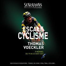 Un séjour Eluxtravel Escale Sensation avec Thomas Voeckler du 19 au 22 août prochain