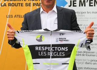Tour de France | Thomas Voeckler vous donne des conseils de Sécurité Routière