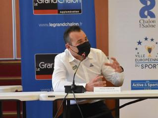 Paris Nice | Thomas VOECKLER à la rencontre des jeunes cyclistes chalonnais à Chalon-sur-Saône