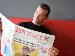Évènement | Thomas Voeckler parmi les parrains du Tour d'Alsace 2019