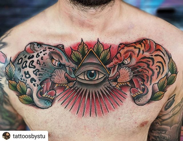 #Repost _tattoosbystu_• • • • •_Not ofte