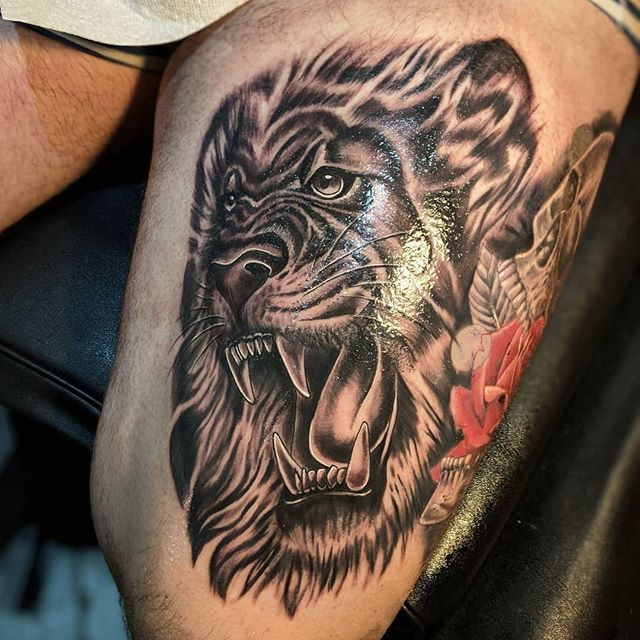 #Repost _tattoosbystu_・・・_Had a blast ta