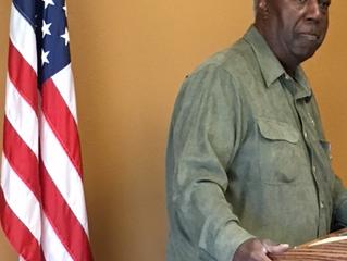Civil Rights Activist Spoke at Jan 2018 Meeting
