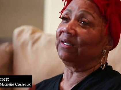 """""""WHY ARE WE NEVER THE DAMSELS IN DISTRESS?"""" COMMEMORATING MICHELLE CUSSEAUX ON HER BIRTHDAY"""