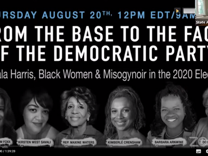 """""""FROM THE BASE TO THE FACE: KAMALA HARRIS, BLACK WOMEN, & MISOGYNOIR IN THE 2020 ELECTION"""""""
