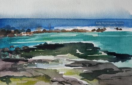 Kahalua Black Sand Beach