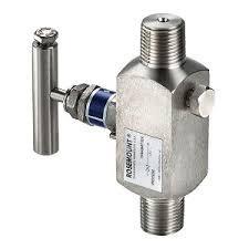 Rosemount 306RT22BA11 - Two-Valve Pressure Manifold
