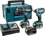 MAKITA DLX2131JX1 18v Twin pack 3 x Batts