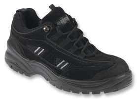 Black Safety Trainer Shoes Size 10 -  AP302SM 10