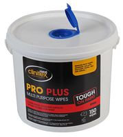 Pro Plus Multi-Purpose Cleaning Wipes 150 Pack -  R900
