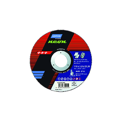 NORTON W257-4447 - NEON ULTRA THIN CUTTING DISC 230 X 1.9 X 22MM PACK OF 25