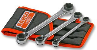 Bahco S4RM/3T DynamicDrive Ratchet Ring Spanner Set, 3 Piece