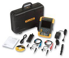 FLUKE-190-504/UK/S 4 Channel ScopeMeter Handheld Colour Oscilloscope Kit