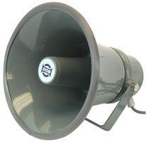 "PULSE TC15AH - 100V Line Weatherproof 8"" Round Horn Speaker, IP66, 15W"