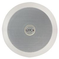 "PULSE PCSX-05 - 5"" 100V Coaxial Ceiling Speaker with Back Box - 16W RMS"