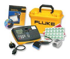 FLUKE 6500-2 UK KIT 250V Portable Appliance Tester (PAT) Kit with Scanner
