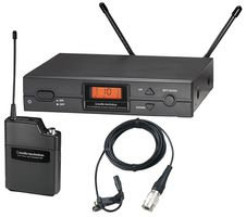 AUDIO TECHNICA ATW-2110B/P1F -  Wireless Lapel Mic System with AT899CW