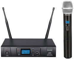 PULSE PWM1000UHF-HH - UHF Wireless Handheld Microphone System, 863-865MHz