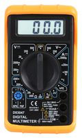 Duratool 500V AC/DC Manual Ranging Digital Multimeter -  D03047