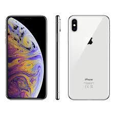 iPhone XS Max 64GB SIM Free, Silver -  M512B/A