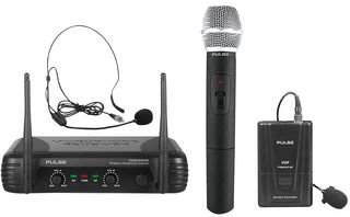 PULSE PWM200VHF-HH/BP - VHF Dual Handheld / Beltpack Wireless Microphone System