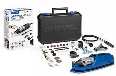 Dremel 4000-4/65 175W Rotary Multi Tool 230V with 4 Attachments