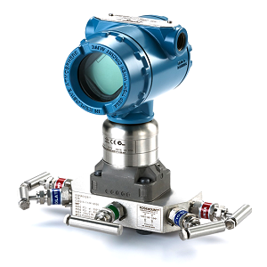 Rosemount 3051S3CD3A2A11A1KB4D1DOL2M5P9 - Scalable Pressure Transmitter