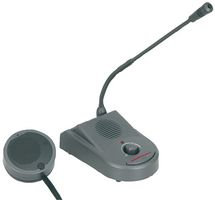 ADASTRA TGM3 - Talk Through Glass Intercom with Gooseneck Condenser Microphone
