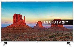 "LG 75UK6500PLA 75"" Smart HDR 4K Ultra-HD HDR Pro LED TV with Freeview HD"