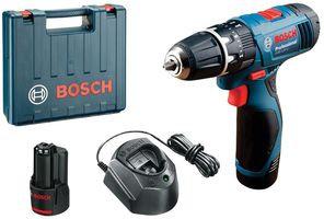 BOSCH GSB120-LI - 10.8V / 12V 2x 1.5Ah Li-Ion Combi-Drill