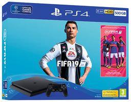 PlayStation 4 500GB FIFA 19 PS4 Console Bundle - 711719743514