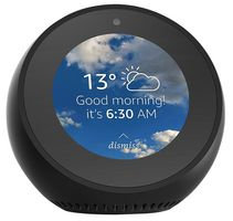 Echo Spot Smart Speaker with Screen, Black -  B01J2BK6CO
