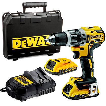 DEWALT DCD795M2 18V COMPACT BRUSHLESS HAMMER DRILL DRIVER WITH 2 X 4.0AH BATTERY