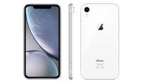 iPhone XR 256GB SIM Free, White -  MRYL2B/A
