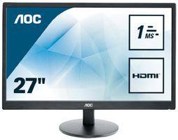 "AOC E2770SH - 27"" Full HD Monitor, DVI HDMI VGA"