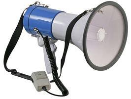 PULSE MP50X - 25W Megaphone With Siren & Shoulder Strap