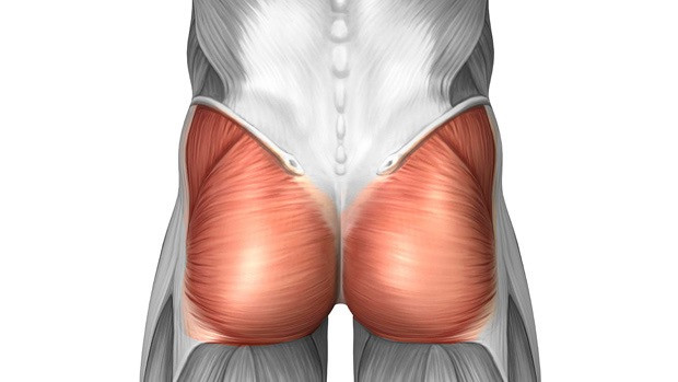 Under active or overpowered glutes
