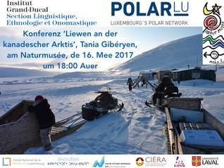 Konferenz : 'Liewen an der kanadescher Arktis'