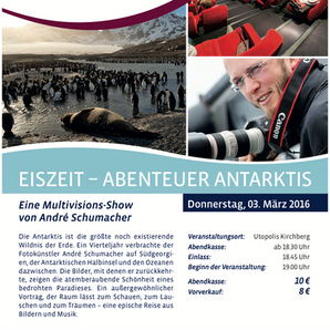 Eiszeit Abenteur Antarktis