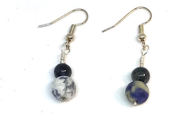 Blue Sodalite Earrings