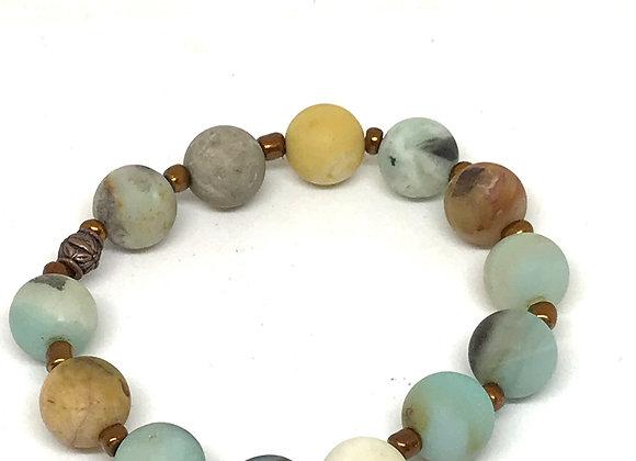 Stretch Amazonite Bracelet