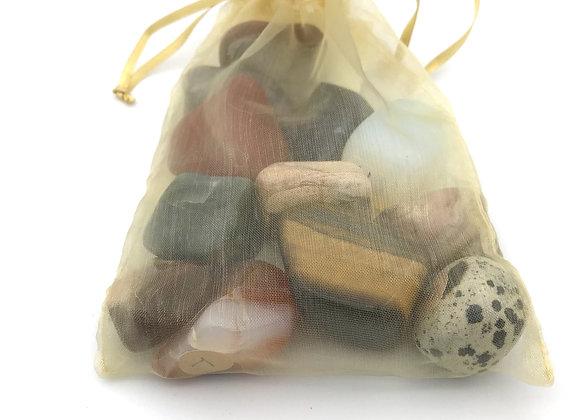 Tumbled Stones Gift Bag