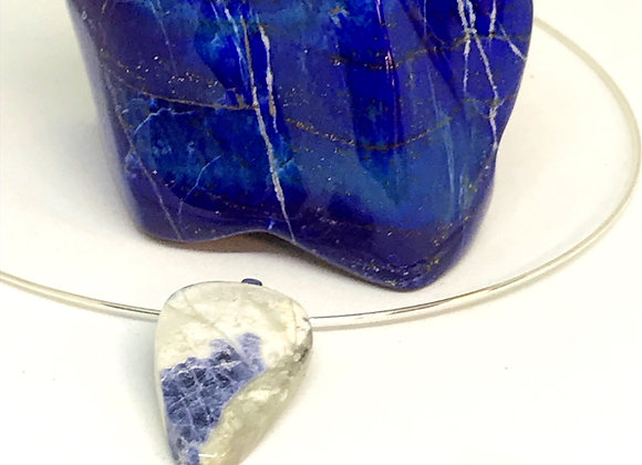 Sodalite Pendent Necklace