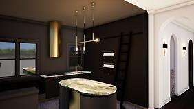 courtyard apartment_kitchen