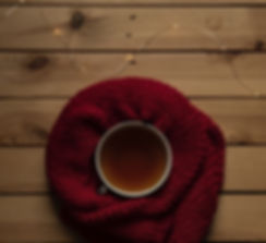 Comfortable Therapist- Tea with Red Scar
