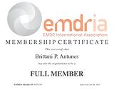EMDR EMDRIA Logo-  Phoenix Therapist