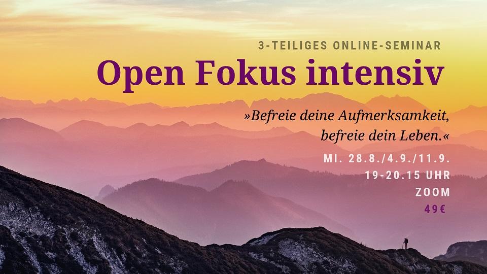 Open Fokus Intensiv