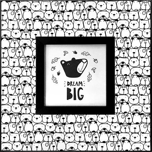 Dog_Dream Big   400 X 400 X 12mm