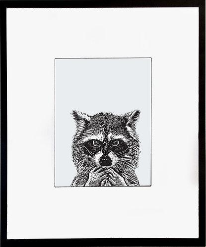 Ferret Poster 600 X 480 X 12mm