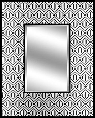 Geometric Hexagon_Mirror